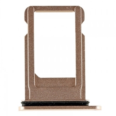 For iPhone 8 SIM Card Tray - Gold - (10PCS/Pack)
