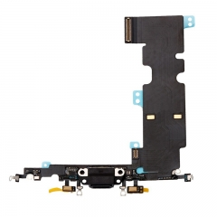For iPhone 8 Plus USB Dock Charging Port Flex Cable - Black