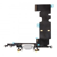 For iPhone 8 Plus USB Dock Charging Port Flex Cable - White