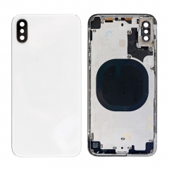 For iPhone X Back Cover Battery Housing Frame Assembly - White