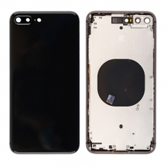 For iPhone 8 Plus Back Cover Battery Housing Frame Assembly - Black