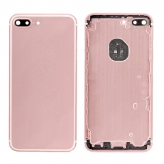 For iPhone7 Plus Battery Housing Back Cover Rear Frame With Side Buttons And SIM Tray - Rose