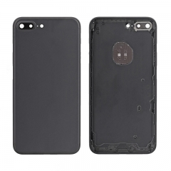 For iPhone 7 Plus Battery Housing Back Cover Rear Frame With Side Buttons And SIM Tray - Black