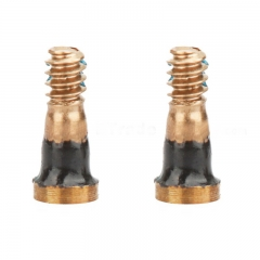 For iPhone 7 Charging Port Screw Set Replacement (2PCS/Set) - Gold 10Sets/Lot