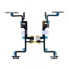 For iPhone 7 Plus Power & Volume Button Connectors With Flex Cable Ribbon (1-00748-03)