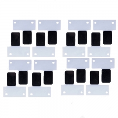 For iPhone 7 Back Plate Shield Sticker 100PCS/Sheet