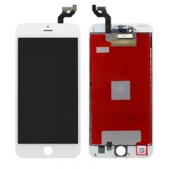 "For iPhone 6S Plus 5.5"" LCD Screen With Digitizer And Frame Assembly - White High Quality"