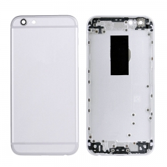 For iPhone 6S Back Cover Battery Housing With Side Buttons And SIM Card Tray - Silver