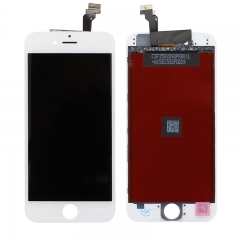 "For iPhone 6 4.7"" LCD Screen With Digitizer and Frame Assembly - White High Quality"