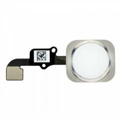 For iPhone 6 Home Button With Flex Cable Assembly - White