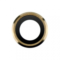 For iPhone 6 Back Camera Lens With Bezel - Gold