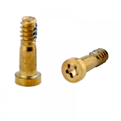 For iPhone 6/6 Plus/6S/6S Plus Bottom Screw Set - Gold