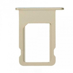 For iPhone 5S SIM Card Tray Holder - Gold - 10PCS/Pack