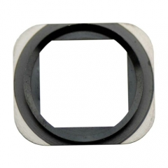 For iPhone 5S Home Button Frame Metal Ring - Black