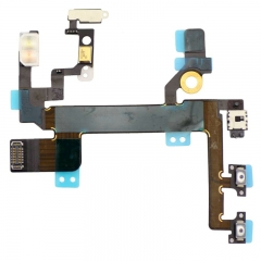 For iPhone 5S Power Volume Control Flex Cable (821-1594-A)