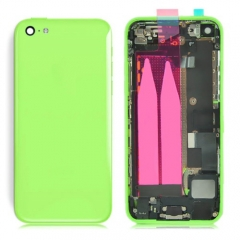 For iPhone 5C Back Battery Housing With Small Parts Assembly - Green