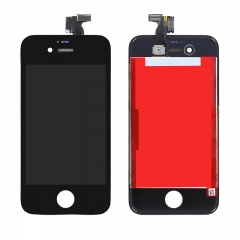 For iPhone 4S LCD Screen With Digitizer and Frame Assembly - Black