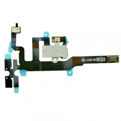 For iPhone 4S Headphone Audio Jack Flex Cable - White