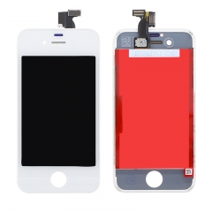 For iPhone 4S LCD Screen With Digitizer and Frame Assembly - White