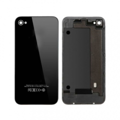For iPhone 4 Back Cover Assembly - Black AAA