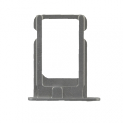 For iPhone 4 Sim Card Tray Holder Slot - Silver