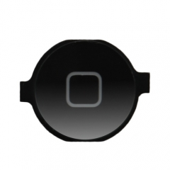 For iPhone 4 Home Button - Black