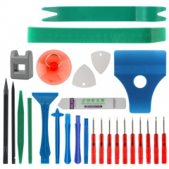 27 in 1 Opening Tool Pry Bar Screwdriver Set