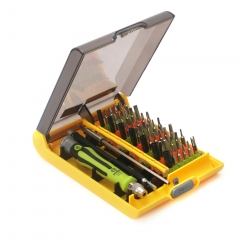 45 in 1 Precision Screwdriver Set CR-V Multifunctional Computer Mobile Phone Repair Hand Tools with Hex Socket Head