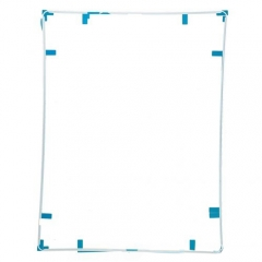 For iPad 3/4 Touch Screen Supporting Frame With Adhesive - White