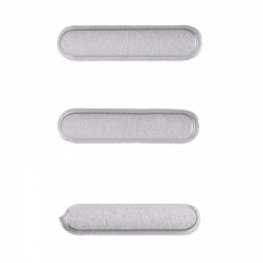 For iPad mini 4 3 in 1 Side Buttons - Silver