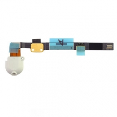 For iPad Mini Headphone Audio Jack Flex Cable - White