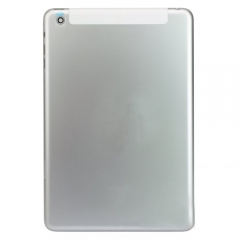 For iPad Mini Back Cover - Silver (4G Version)