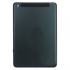 For iPad Mini Back Houging Cover - Black (WiFi + Cellular)