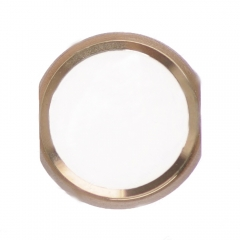 "For iPad Air 2/Pro 9.7""/12.9""/10.5"" Home Button - Gold"