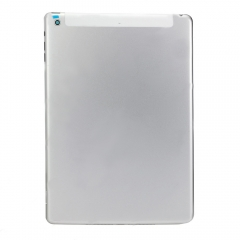 For iPad Air Silver Back Cover - 4G Version