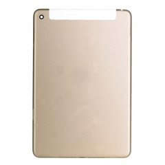 For iPad Mini 4 Gold Back Cover - 4G Version