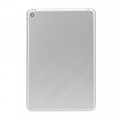 For iPad mini 3 Silver Back Cover - WiFi Version