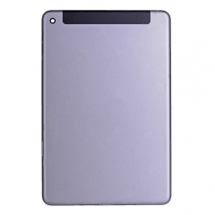 For iPad Mini 4 Gray Back Cover - 4G Version