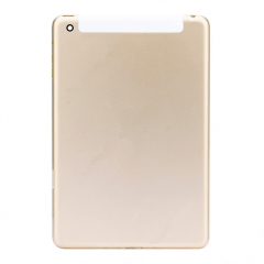 For iPad mini 3 Gold Back Cover - 4G Version