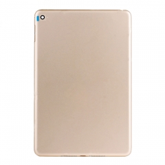 For iPad Mini 4 Gold Back Cover - WiFi Version