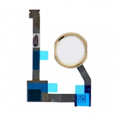 For iPad mini 4 Home Button Assembly with Flex Cable Ribbon - Gold