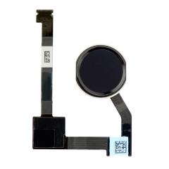 For iPad Mini 4  Home Button Assembly with Flex Cable Ribbon - Black
