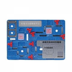 For iPhone X motherboard CPU A11 WIFI Baseband IC Remove Glue Cooling Protect tin Positioning Fixture Platform
