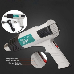 QUICK 885 Thermostat Hot Air Gun Wind Volume Adjustable Temperature Range of 50 - 600 Degrees 220V Welding Rework Station
