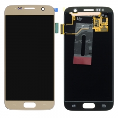 For Samsung Galaxy S7 G930 G930F LCD Screen Display Assembly - Gold
