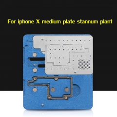 For iPhone X Stannum Planting Platform Mid-layer Tin Plated Fixture Motherboard Fixed Fixture and Plant Tin Steel Mesh