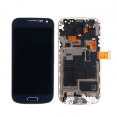 For Samsung Galaxy S4 Mini I9190 i9192 i9195 LCD Screen Display Assembly With Frame - Blue