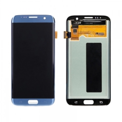 For Samsung Galaxy S7 Edge G935 G935F LCD Screen Display Assembly - Coral Blue