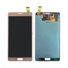 For Samsung Galaxy Note 4 N910 N910F N910A N910V N910G LCD Screen Display Touch Digitizer Assembly - Gold