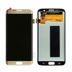 For Samsung Galaxy S7 Edge G935 G935F LCD Screen Display Assembly - Gold
